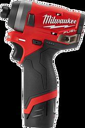 "Milwaukee 2553-21C - M12 FUEL 1/4"" HEX IMPACT DRIVER KIT"