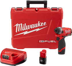 "Milwaukee 2553-22 - M12 FUEL™ 1/4"" Hex Impact Driver Kit"