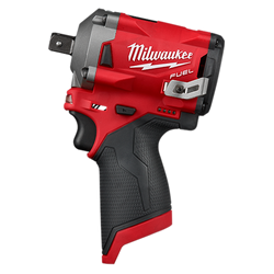 "Milwaukee 2555P-20 - M12 FUEL™ 1/2"" Stubby Impact Wrench w/ Pin Detent"