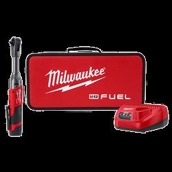 "Milwaukee 2560-21 - M12 FUEL™ 3/8"" Extended Reach Ratchet Kit"