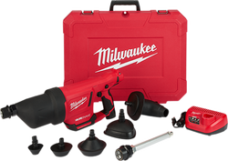 Milwaukee 2572B-21 - M12™ AIRSNAKE™ Drain Cleaning Air Gun Kit