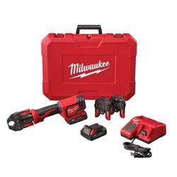 Milwaukee 2674-22C - M18™ Short Throw Press Tool Kit with PEX Crimp Jaws