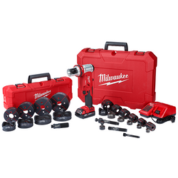 """Milwaukee 2677-23 - M18™ FORCELOGIC™ 6T Knockout Tool 1/2"""" - 4"""" Kit"""