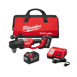 "Milwaukee 2707-22HD - M18 FUEL™ HOLE HAWG® 1/2"" Right Angle Drill High Demand™ Kit"