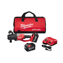 Milwaukee 2708-22HD - M18 FUEL™ HOLE HAWG® Right Angle Drill Kit w/ QUIK-LOK™
