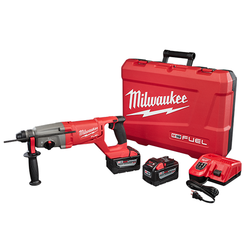 "Milwaukee 2713-22HD - M18 FUEL™ 1"" SDS Plus D-Handle Rotary Hammer High Demand™ Kit"