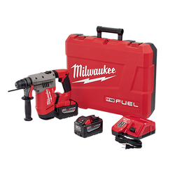 "Milwaukee 2715-22HD - M18 FUEL™ 1-1/8"" SDS Plus Rotary Hammer High Demand™ Kit"