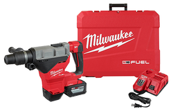 "Milwaukee 2718-21HD - M18 FUEL 1-3/4"" SDS MAX Rotary Hammer Kit w/ 12.0 Battery"