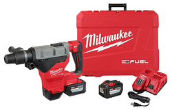 "Milwaukee 2718-22HD - M18 FUEL 1-3/4"" SDS MAX Rotary Hammer Kit w/ (2) 12.0 Battery"