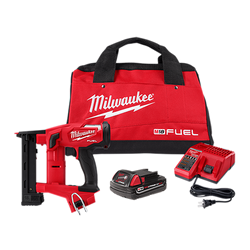 "Milwaukee 2749-21CT - M18 FUEL 18GA 1/4"" NARROW CROWN STAPLER KIT"