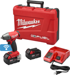 "Milwaukee 2758-22 - M18 FUEL™ with ONE-KEY™ 3/8"" Compact Impact Wrench w/ Friction Ring Kit"
