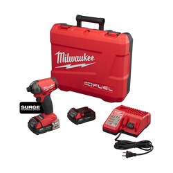 "Milwaukee 2760-22CT - M18 FUEL™ SURGE™ 1/4"" Hex Hydraulic Driver Kit"