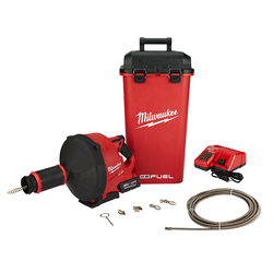 Milwaukee 2772B-21XC - M18 FUEL™ Drain Snake w/ CABLE DRIVE™ Kit