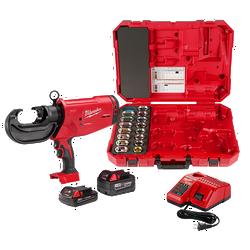 Milwaukee 2779-750A - M18™ FORCE LOGIC™ 750 MCM Crimper Kit with EXACT™ #6 – 750 MCM Al Dies