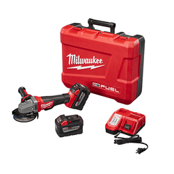 "Milwaukee 2780-22HD - M18 FUEL™ 4-1/2"" / 5"" Grinder, Paddle Switch No-Lock High Demand™ Kit"