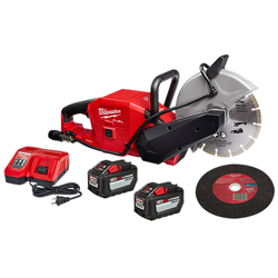 "Milwaukee 2786-22HD - M18 FUEL™ 9"" Cut-Off Saw w/ ONE-KEY™ Kit"