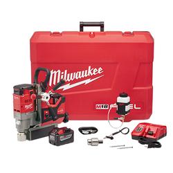 "Milwaukee 2788-22HD - M18 FUEL™ 1-1/2"" Lineman Magnetic Drill High Demand™ Kit"