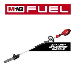 """Milwaukee 2825-21PS - M18 FUEL™ 10"""" Pole Saw Kit w/ QUIK-LOK™ Attachment Capability"""