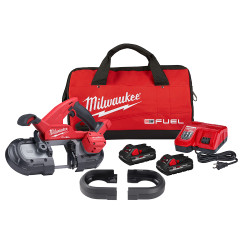 Milwaukee 2829S-22 - M18 FUEL™ Compact Dual-Trigger Band Saw Kit