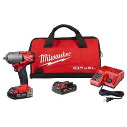 "Milwaukee 2852-22CT - M18 FUEL™ 3/8"" Mid-Torque Impact Wrench w/ Friction Ring"