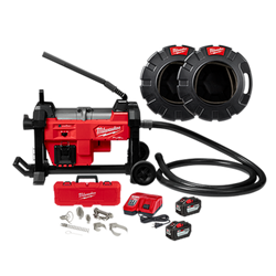 Milwaukee 2871A-22 - M18 FUEL™ Sewer Sectional Machine w/ CABLE DRIVE™