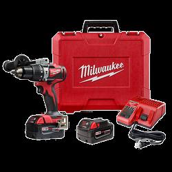 "Milwaukee 2902-22 - M18 1/2"" Brushless Hammer Drill Kit"