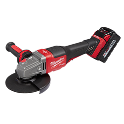 "Milwaukee 2980-22 - M18 FUEL™ 4-1/2"" - 6"" Braking Grinder Kit, Paddle Switch No-Lock"