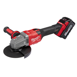 "Milwaukee 2981-21 - M18 FUEL™ 4-1/2"" - 6"" Braking Grinder Kit, Slide Switch, Lock-On"