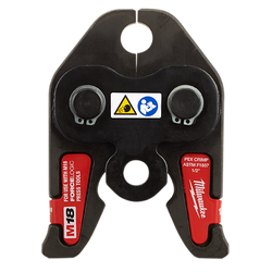 "Milwaukee 49-16-2651C - 1/2"" PEX Crimp (F1807 & F2159) Jaw for M18™ FORCE LOGIC™ Press Tools"