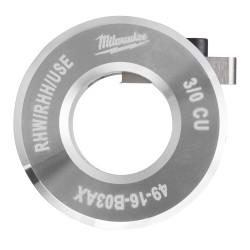 Milwaukee 49-16-B03AX - 3/0 AWG Cu RHW / RHH / USE Bushing