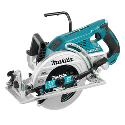 "Makita DRS780Z - 7-1/4"" Cordless Rear Handle Circular Saw with Brushless Motor"