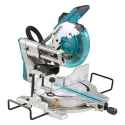 """Makita LS1019L - 10"""" Sliding Compound Mitre Saw With Laser"""