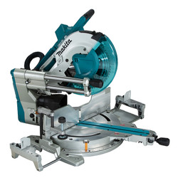 """Makita DLS211Z - 12"""" Cordless Sliding Compound Mitre Saw with Brushless Motor, Laser & AWS"""