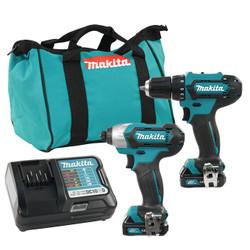 Makita CLX224 - 12V MAX CXT 2 Tool Combo Kit