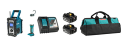Makita DLX2318TX1 - 18V (5.0 Ah) Li-Ion Emergency Combo Kit