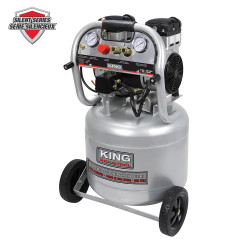 King Canada KC-10020SQ - 10 Gallon ultra quiet oil-free air compressor