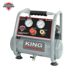 King Canada KC-1410A - Ultra quiet oil free air compressor