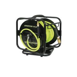 "King Canada K-10014FRL - 100 ft. x 1/4"" Manual air hose reel with Hybrid polymer air hose"