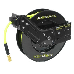 """King Canada K-5038FRL - 50 ft x 3/8"""" Retractable air hose reel with hybrid polymer air hose"""