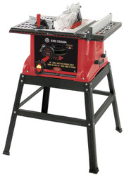 """King Canada KC-5006R - 10"""" Table saw with stand"""