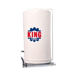 King Canada KDCB-2105T-1MIC - Replacement 1 Micron felt upper dust bag for KC-2105C