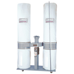King Canada KC-5043FX-6 - 3,980 CFM / 5 HP dust collector 600V