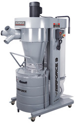 King Canada KC-8300C - 3 HP cyclone dust collector