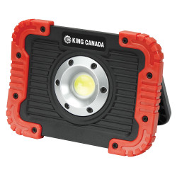 King Canada KC-750LED-B - 750 Lumen LED worklight - with magnetic base and 4 AA Panasonic batteries