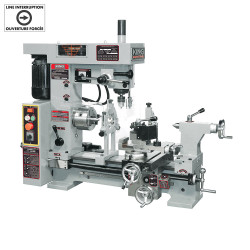 """King Canada KC-1620CLM - 16"""" X 20"""" Combo Lathe/Mill"""