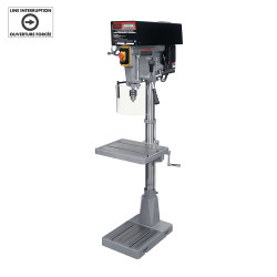 """King Canada KC-30HS-VS - 15"""" Variable speed industrial drill press"""