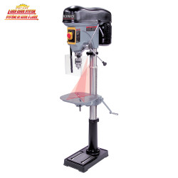 """King Canada KC-119FC-LS - 17"""" Long stroke drill press with safety guard"""