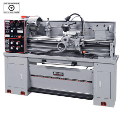"""King Canada KC-1440ML-2/KM-054 - 14"""" x 40"""" Gearhead metal lathe with taper attachment - with 2"""" spindle bore"""