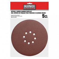"""King Canada SD-878-K-80 - 5 PC. 8-7/8"""" -80 GRIT SANDING PAPER KIT"""