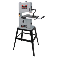 """King Canada KC-1002C - 10"""" Wood bandsaw with stand"""